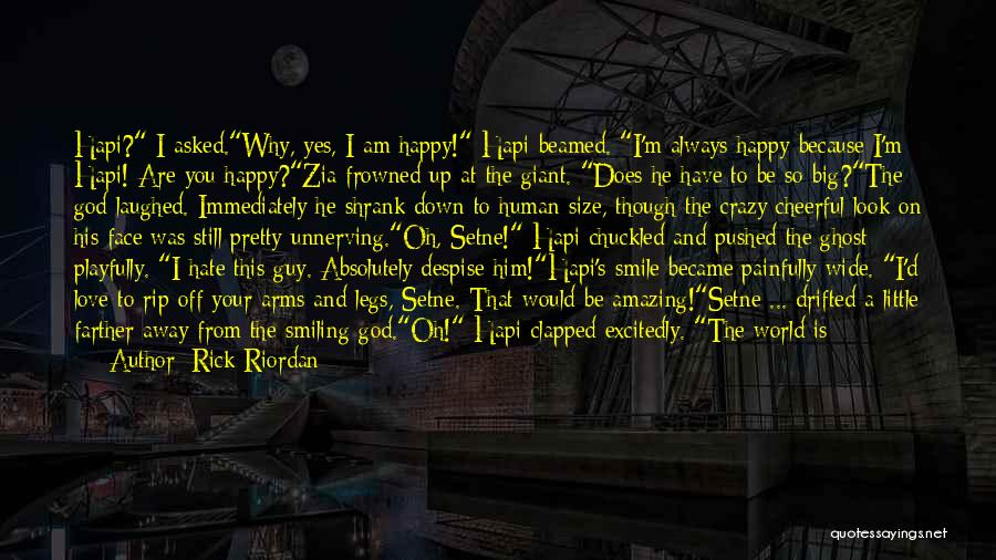 Love Without End Quotes By Rick Riordan