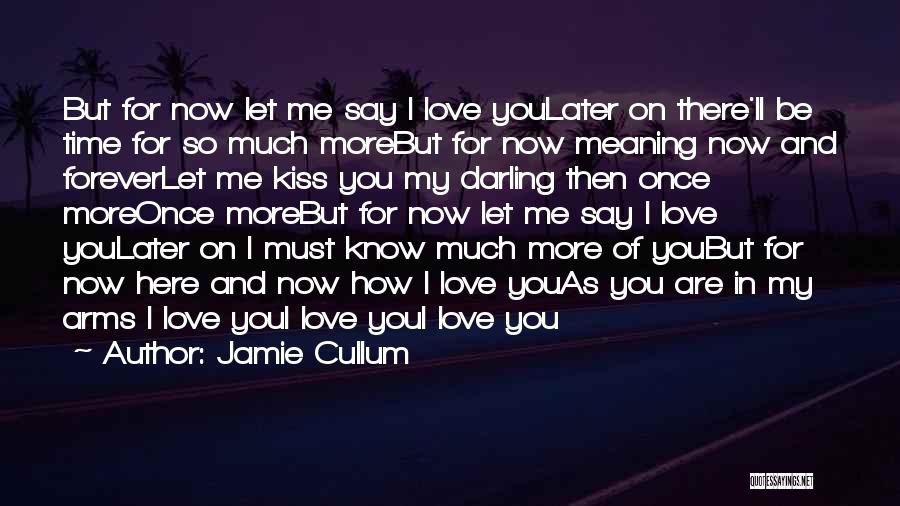 Love You Forever More Quotes By Jamie Cullum