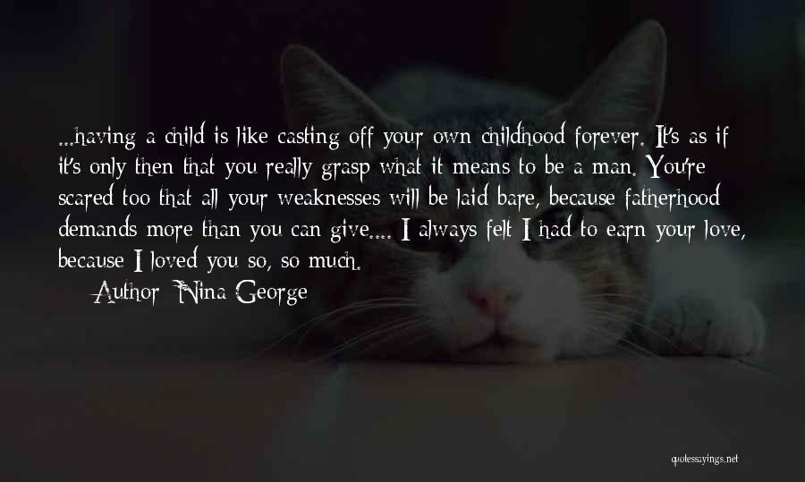 Love You Forever More Quotes By Nina George