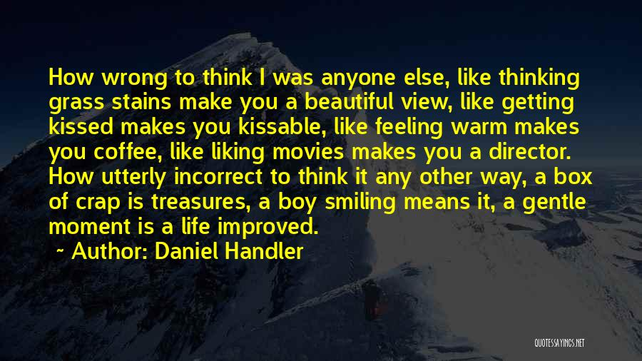 Love You Like Coffee Quotes By Daniel Handler