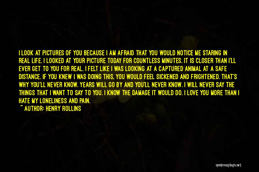 Love You More Today Quotes By Henry Rollins