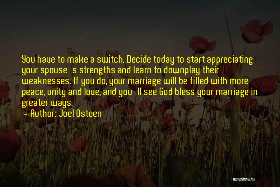 Love You More Today Quotes By Joel Osteen