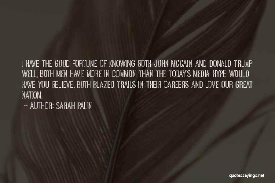 Love You More Today Quotes By Sarah Palin
