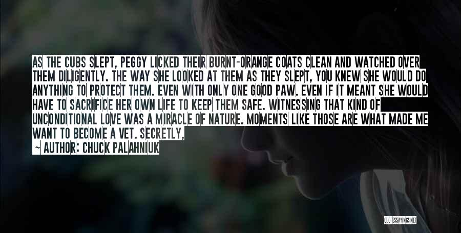 Love You Secretly Quotes By Chuck Palahniuk