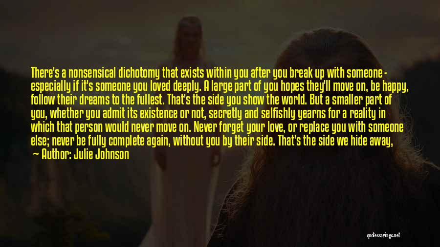 Love You Secretly Quotes By Julie Johnson