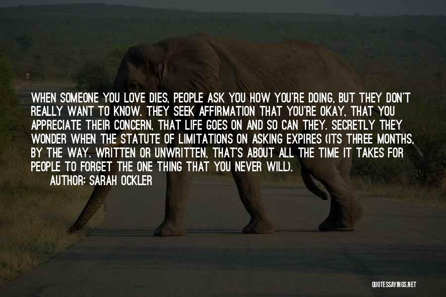 Love You Secretly Quotes By Sarah Ockler