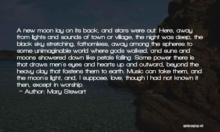 Love You To The Moon And Back Quotes By Mary Stewart