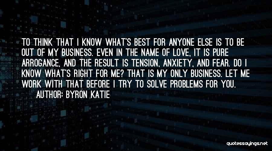 Love Yourself Before Anyone Else Quotes By Byron Katie