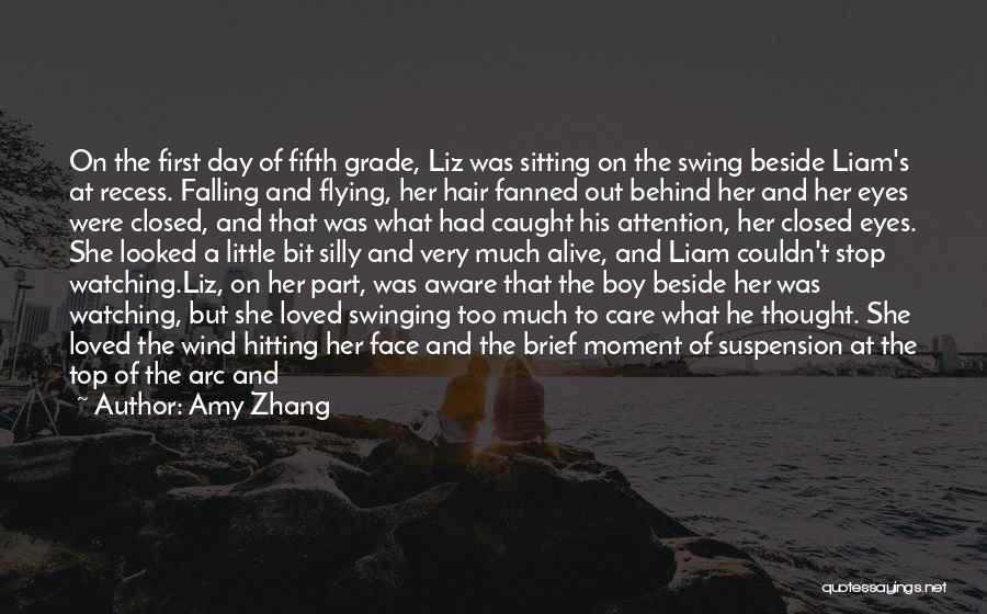 Loved Ones Watching Over Us Quotes By Amy Zhang