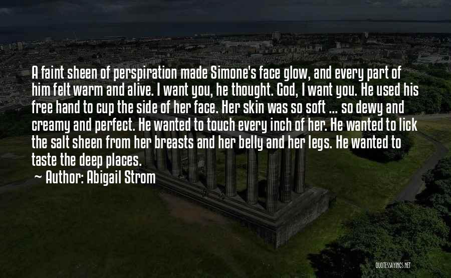 Lovers Touch Quotes By Abigail Strom