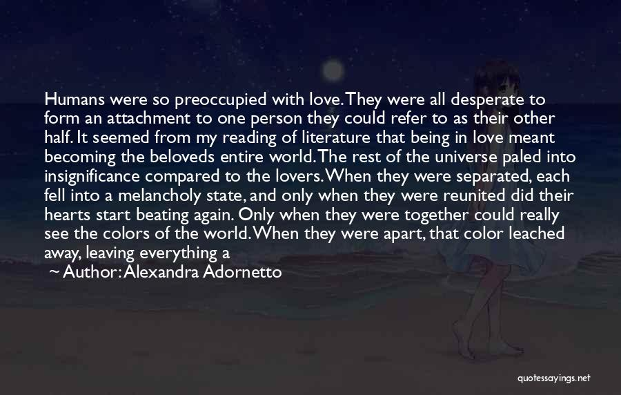 Lovers Touch Quotes By Alexandra Adornetto