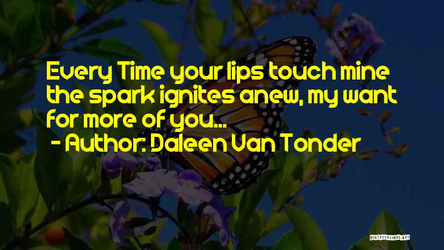 Lovers Touch Quotes By Daleen Van Tonder