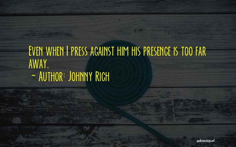Lovers Touch Quotes By Johnny Rich