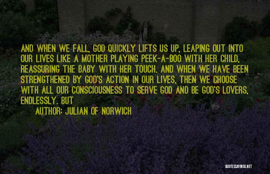 Lovers Touch Quotes By Julian Of Norwich