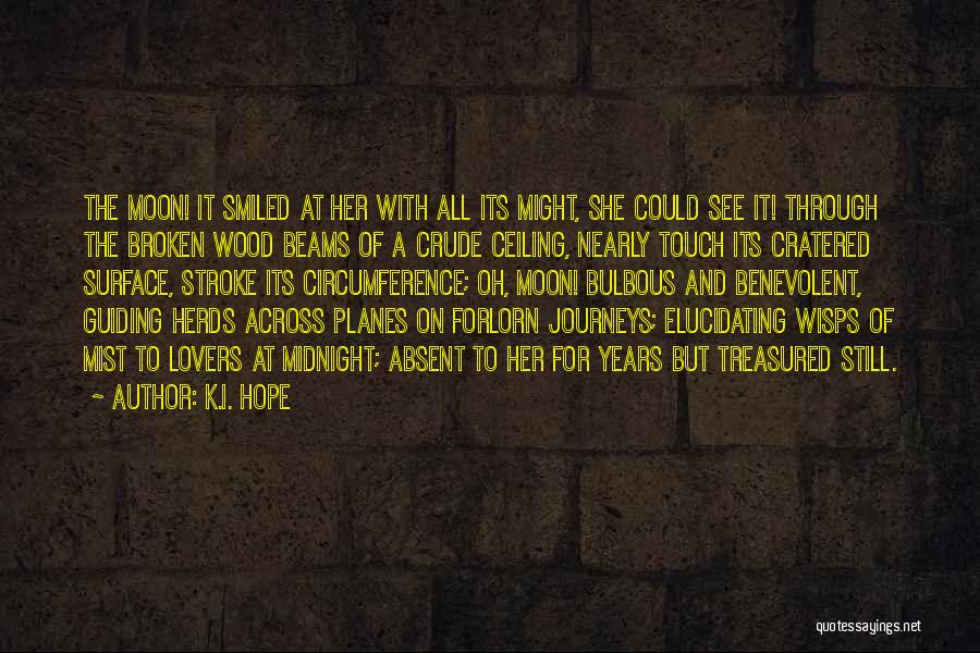 Lovers Touch Quotes By K.I. Hope