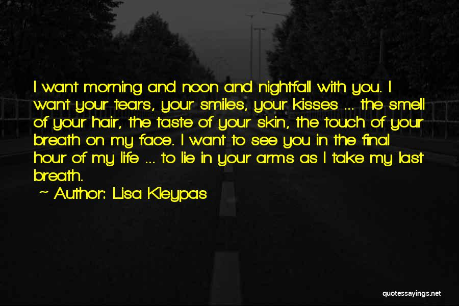 Lovers Touch Quotes By Lisa Kleypas