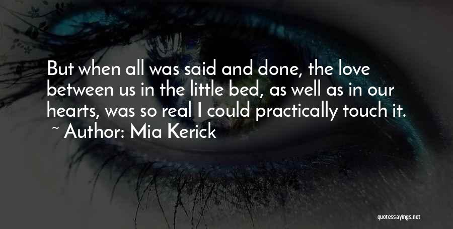 Lovers Touch Quotes By Mia Kerick