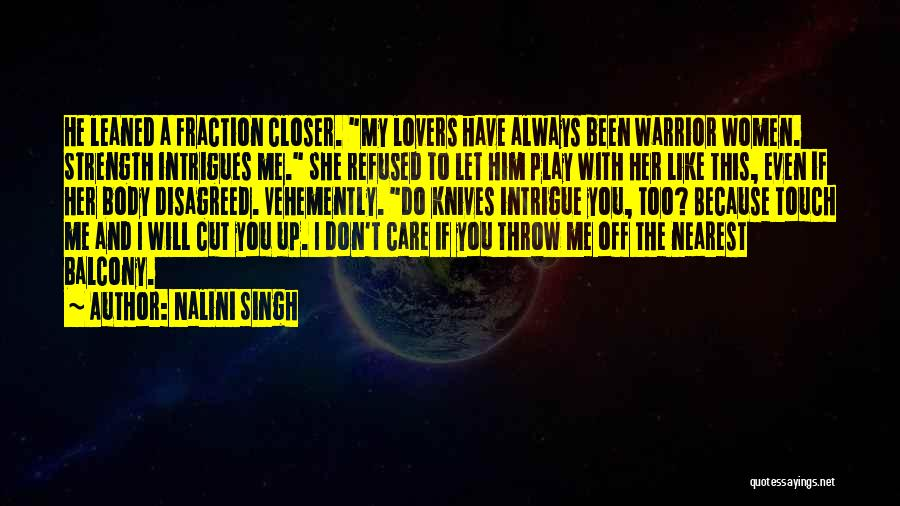 Lovers Touch Quotes By Nalini Singh