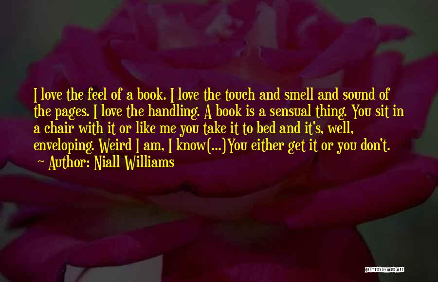 Lovers Touch Quotes By Niall Williams