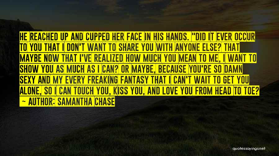 Lovers Touch Quotes By Samantha Chase