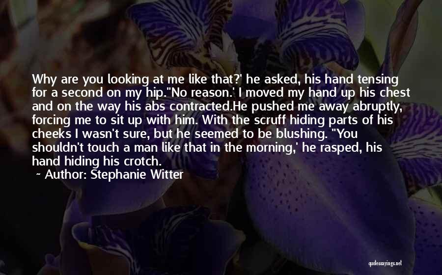 Lovers Touch Quotes By Stephanie Witter