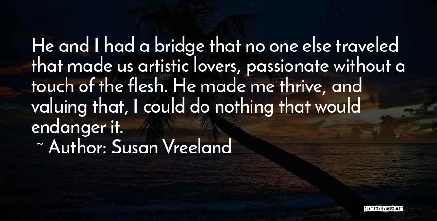 Lovers Touch Quotes By Susan Vreeland