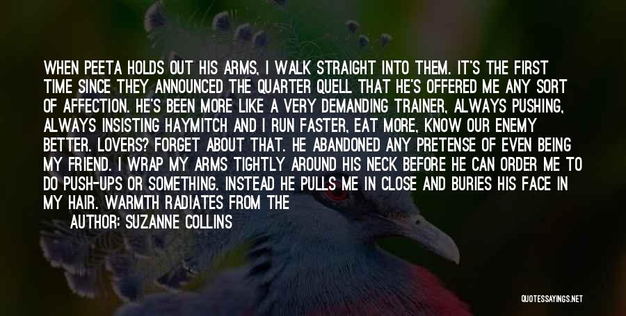 Lovers Touch Quotes By Suzanne Collins