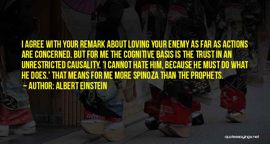 Loving Him More Quotes By Albert Einstein