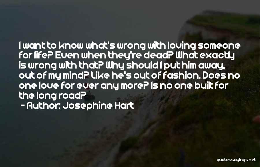 Loving Him More Quotes By Josephine Hart