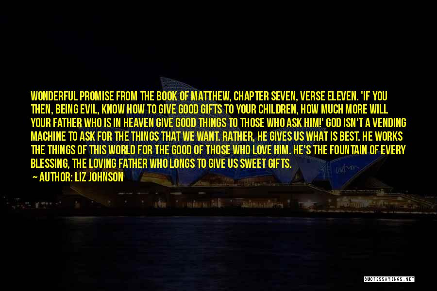 Loving Him More Quotes By Liz Johnson