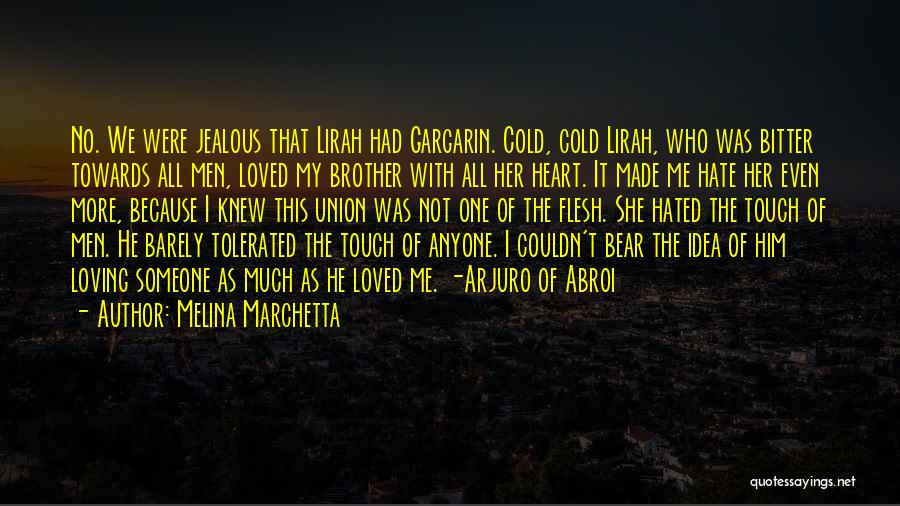 Loving Him More Quotes By Melina Marchetta