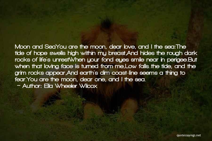 Loving His Smile Quotes By Ella Wheeler Wilcox