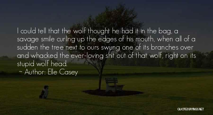 Loving His Smile Quotes By Elle Casey