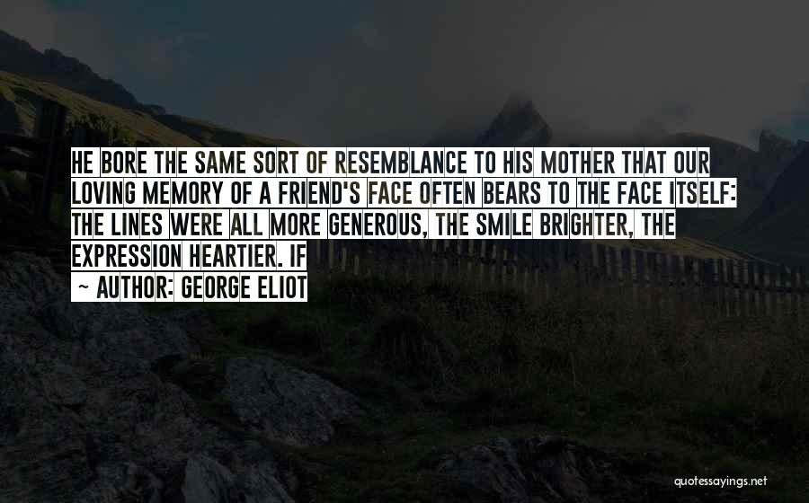 Loving His Smile Quotes By George Eliot