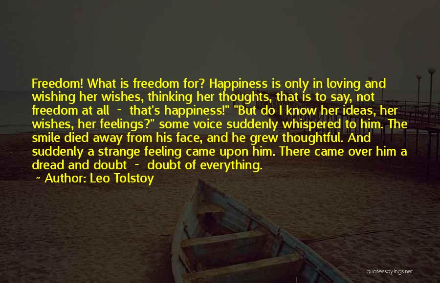 Loving His Smile Quotes By Leo Tolstoy