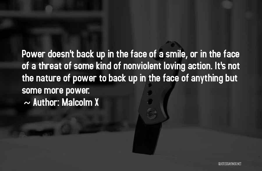 Loving His Smile Quotes By Malcolm X
