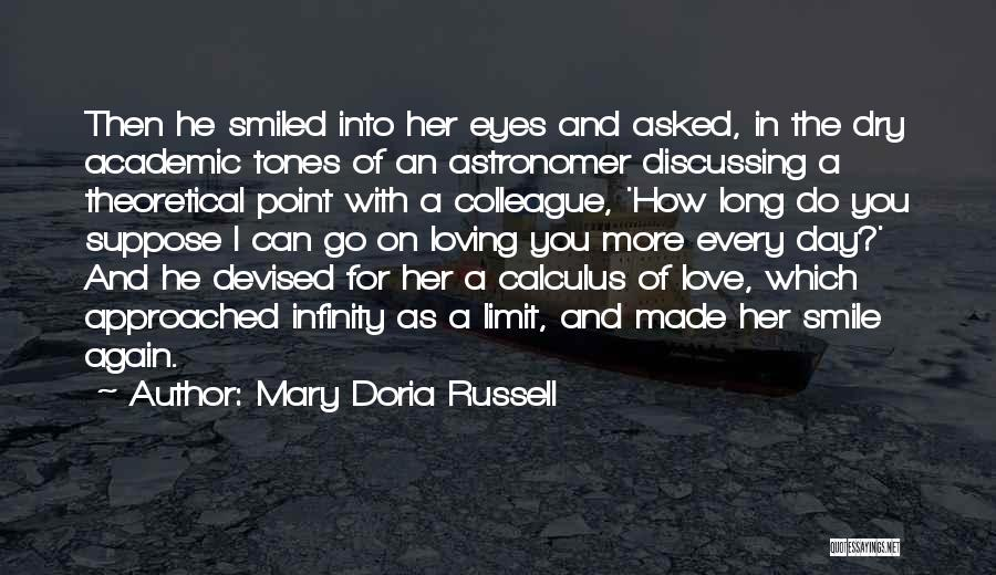Loving His Smile Quotes By Mary Doria Russell