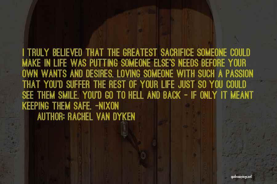 Loving His Smile Quotes By Rachel Van Dyken