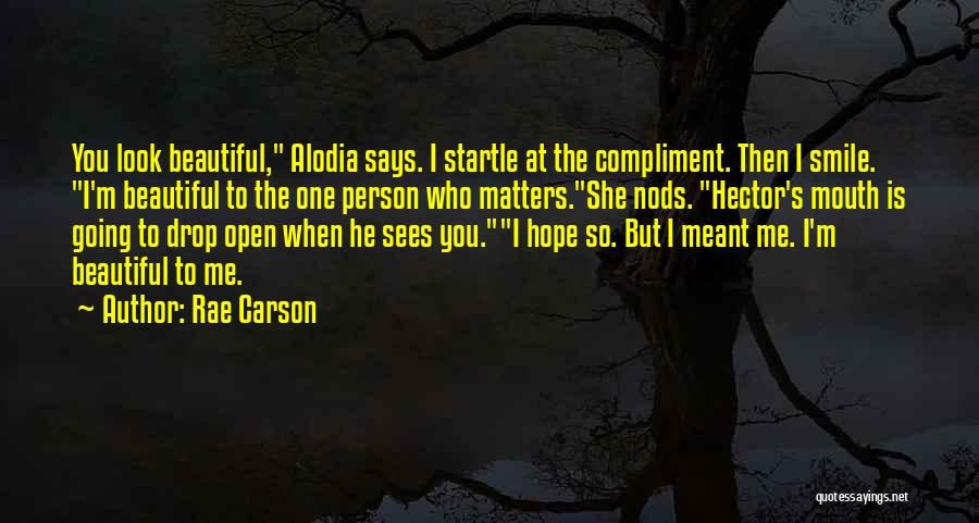 Loving His Smile Quotes By Rae Carson