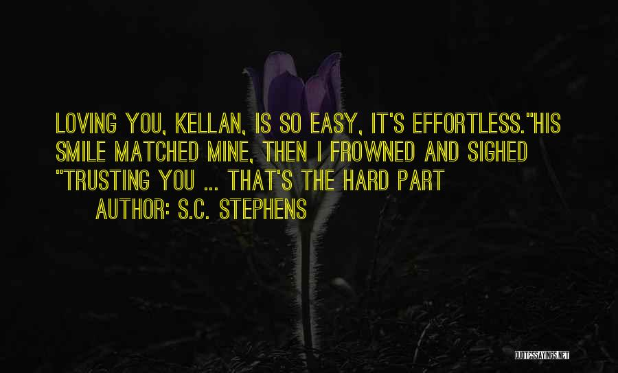 Loving His Smile Quotes By S.C. Stephens