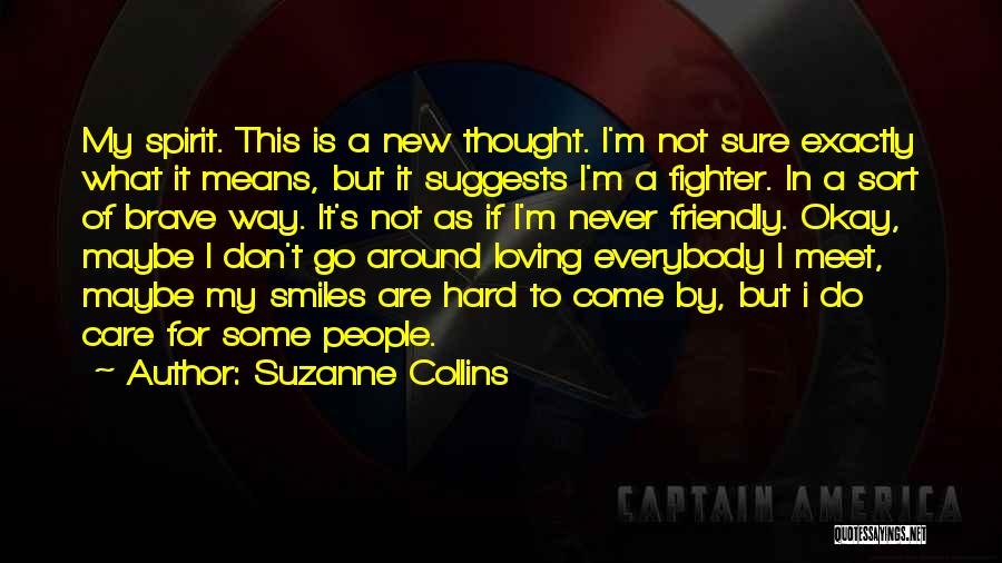 Loving His Smile Quotes By Suzanne Collins