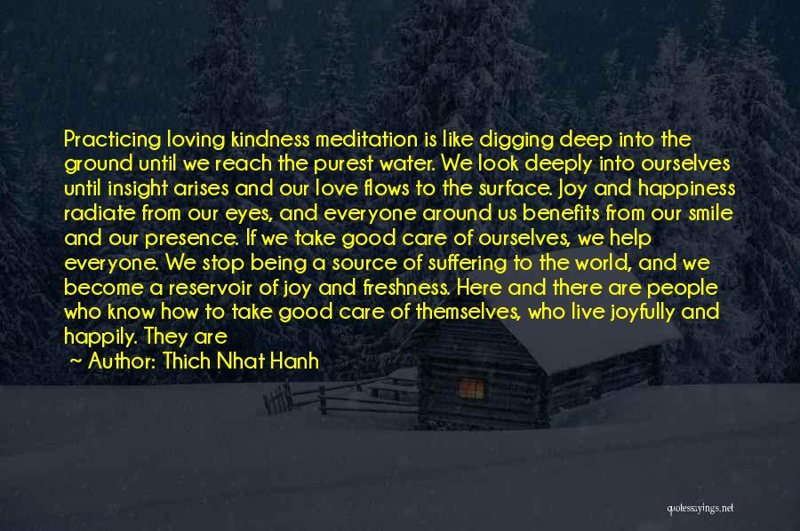 Loving His Smile Quotes By Thich Nhat Hanh
