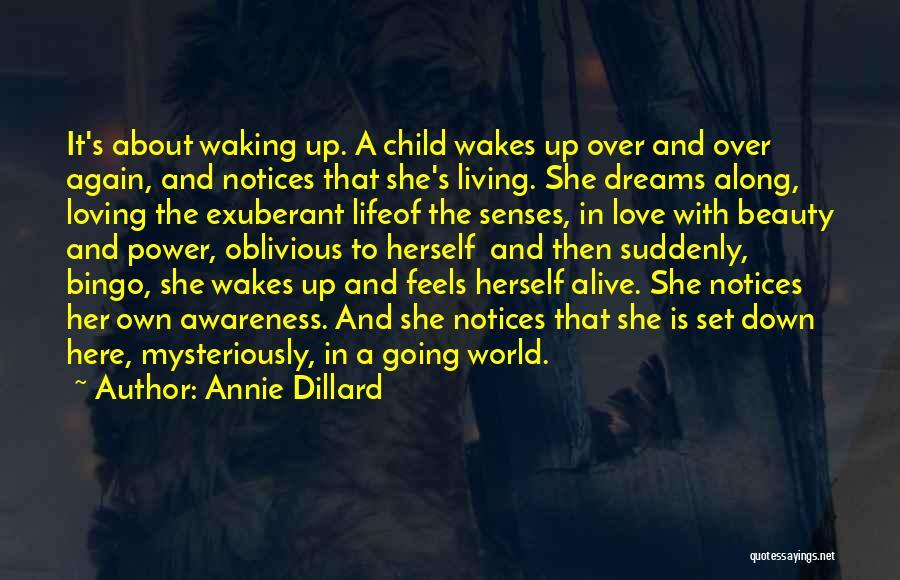 Loving Life Again Quotes By Annie Dillard