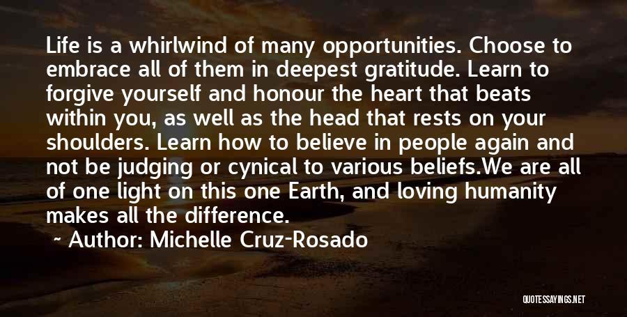 Loving Life Again Quotes By Michelle Cruz-Rosado