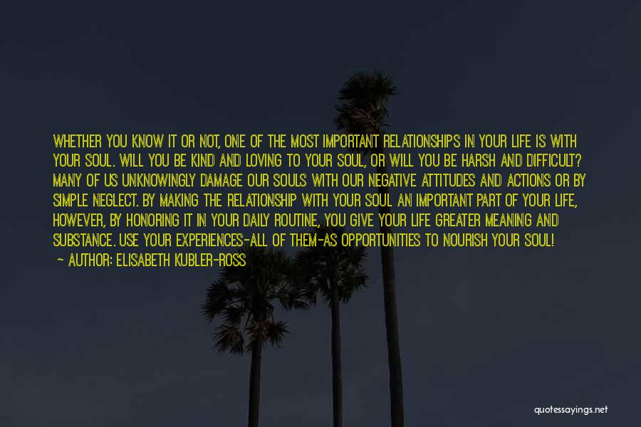 Loving Life As It Is Quotes By Elisabeth Kubler-Ross