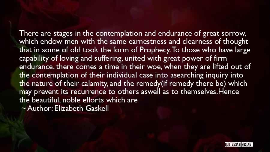 Loving Nature Quotes By Elizabeth Gaskell