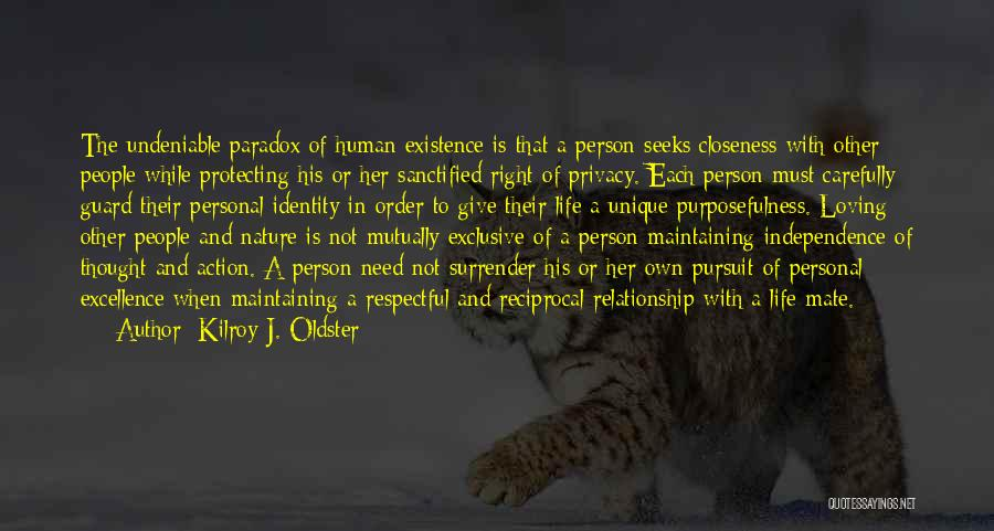 Loving Nature Quotes By Kilroy J. Oldster