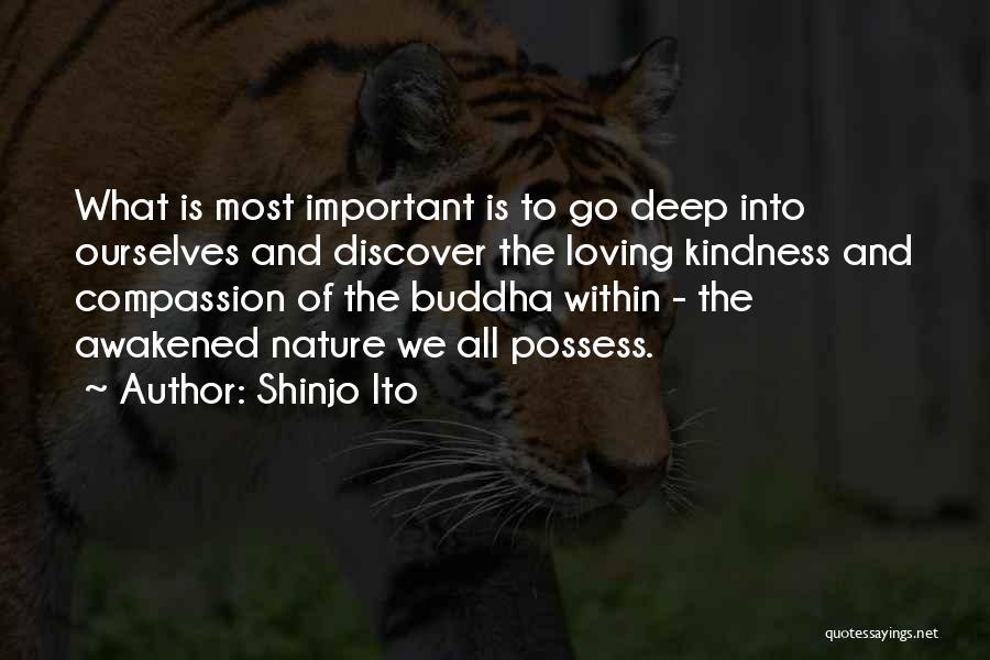 Loving Nature Quotes By Shinjo Ito