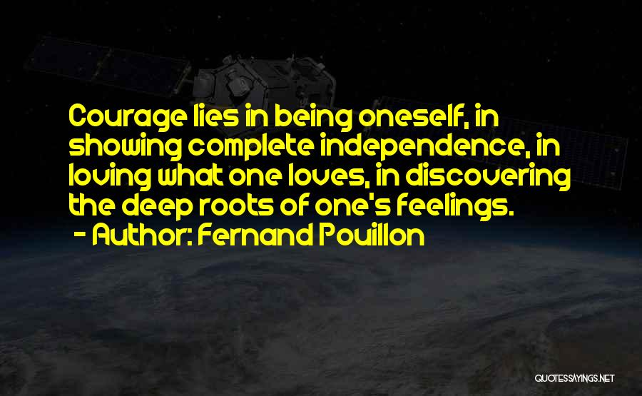 Loving Oneself Quotes By Fernand Pouillon
