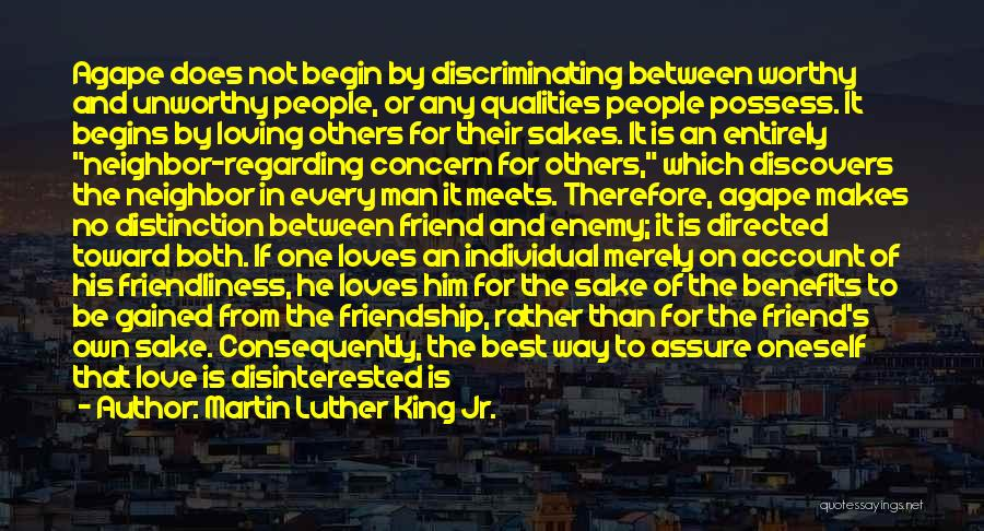 Loving Oneself Quotes By Martin Luther King Jr.